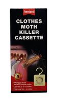 RENTOKIL 4 PCE CLOTHES MOTH KILLER CASSETE