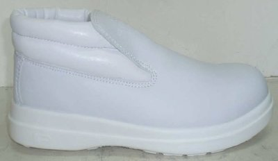 NEVIS White Slip-On Boots