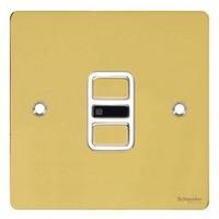 xFP Polished Brass IR ELEC DIM 1G White   LV0701.0523