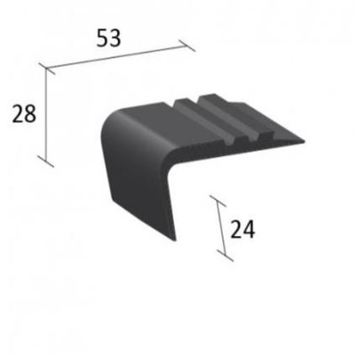 EQESN1 Flexible Stair Nosing