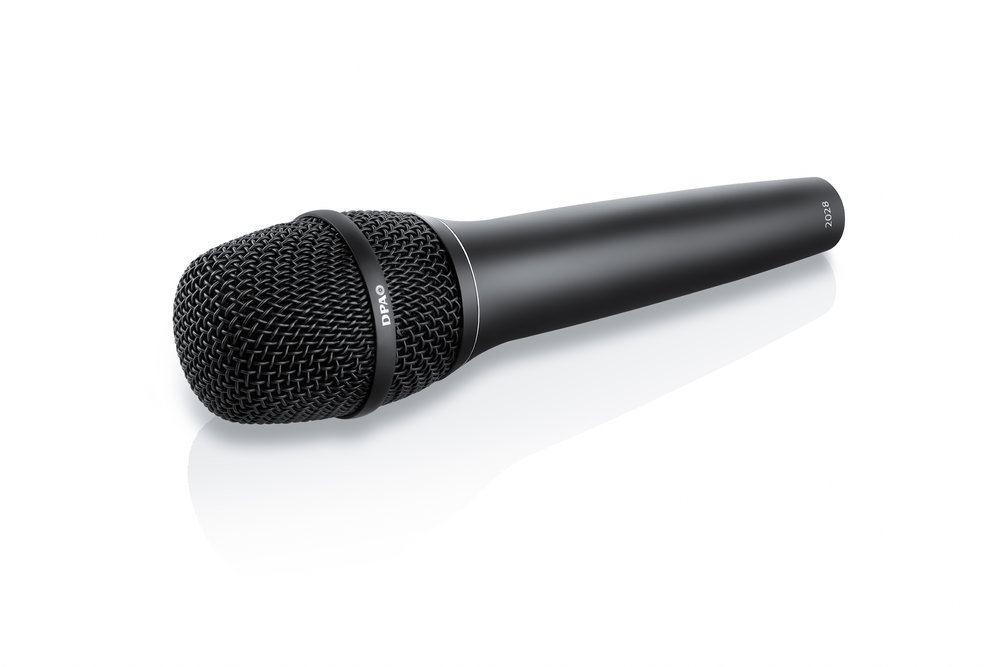 DPA 2028 Supercardioid Vocal Mic, Wired DPA Handle, Black