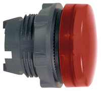Telemecanique Plain Red Lens for Integral LED Pilot Light Head