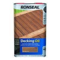 Ronseal Decking Oil 5L Natural Oak