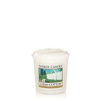 Yankee Classic Votive Clean Cotton