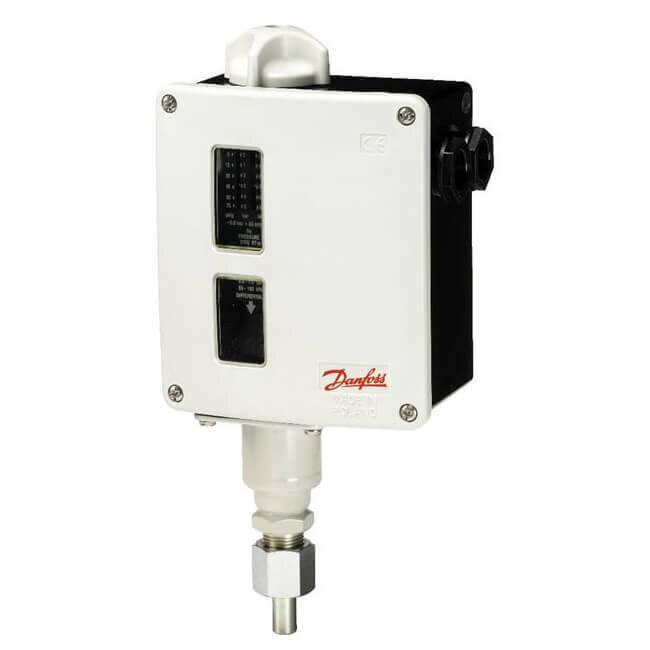 017-520466 Danfoss RT116 Pressure Switch 1-10bar Diff 0.30bar Fixed