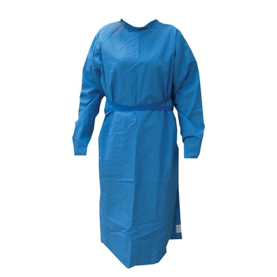 Purfect Operating Gown (Blue) Long Sleeves