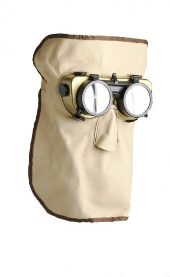 Leather Welding Mask (Monkey)
