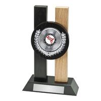 23cm 2 Tone Wooden Award Plaque