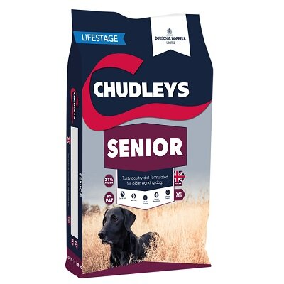 Chudleys Senior Dog Food 15kg