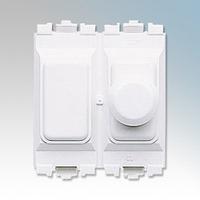 MK K4500WHILV Grid Plus Dim Switch 1G Module LV 400W WHI