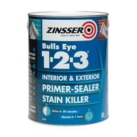 ZINSSER BULLSEYE 1.2.3. PRIMER SEALER 5LTR