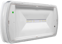 ZETA4 LED EMERGENCY BULKHEAD IP65 MAINTAINED – 6.5 VA/5.5W NON-MAINTAINED – 5.5 VA/4.25W