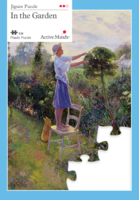 24 Piece Garden Jigsaw Active Minds