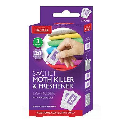 Acana Sachet Moth Killer and Freshener 20 sachets