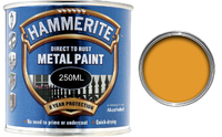 5084874 HM METAL PAINT SMOOTH YELLOW 250ML