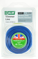 ALM Round Trimmer Line (30m X 1.5mm) For Medium Weight Electric Trimmers - SL002