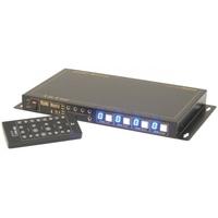 HDMI 4 x 4 Matrix over HDMI Leads