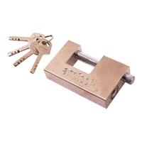 90mm All Steel Shutter Lock / 4 Keys