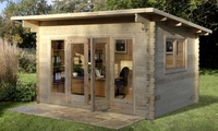 melbury log cabin 4m x 3m without installation