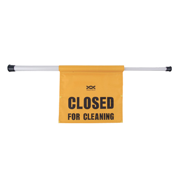 'Closed for Cleaning' Sign on Pole