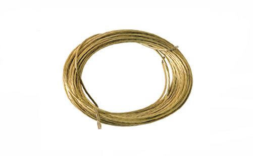 Brass Picture Wire 6 metre Pack of 1