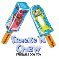 Fat Cat Freeze 'N Chew Dog Toy x 4