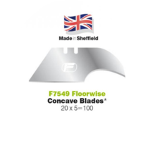 Floorwise Concave Blades