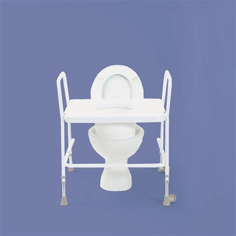Raised Toilet Seat Frame Bariatric Homecare Medical Supplies