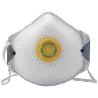 Draper FFP3 Moulded Dust Mask Pack of 2