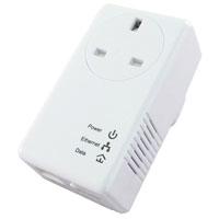 Edimax 500Mbps Homeplug AC Pass Single Unit