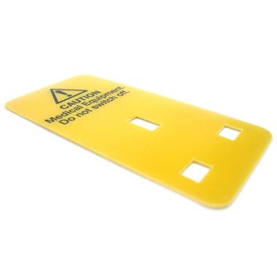 Do Not Unplug Card