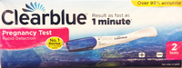 Clearblue Rapid Detection Double Pregnancy Test