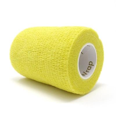 Purfect Aniwrap Cohesive Bandage Plain Yellow 5cm
