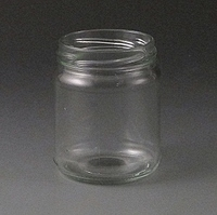 212ml Round glass jar