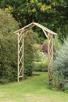 honeysuckle garden arch