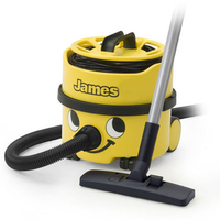 Numatic James Canister Vacuum Cleaner (Yellow)