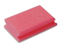 SPONGE/SCOURER NON-SCRATCH RED
