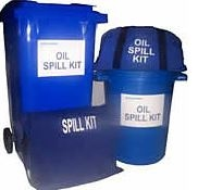 OIL SPILL KIT 125 LITRE (WHEELIE BIN)