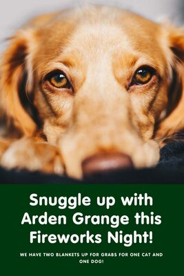 Snuggle up with Arden Grange this Fireworks Night!