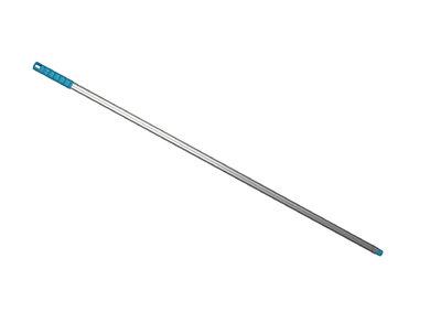 ALH7 Aluminium Handle 1360mm with coloured grip