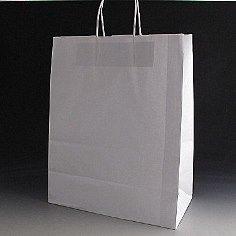 Large white paper bag