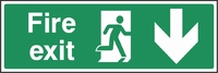 Emergency Escape Sign EMER0008-0356
