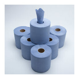 Standard Centre Pull Towel Blue (Bale 6)