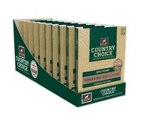 Gelert Country Choice Dog Trays Turkey 395g x 10