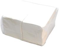 Premium Quilted Dinner Napkin 2Ply White 8 Fold 10 Pkts of 100