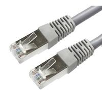 AP-1803A-45 PATCH CABLE CAT5E, 45 FT/ 13.7M, COPPER, METAL RJ45 MALE CONNECTORS