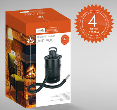 25L Ash Vac Double Chamber New Version