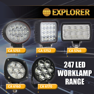 EXPLORER WORK LAMP RANGE