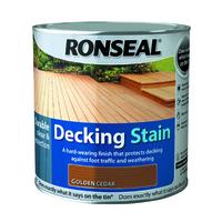 Ronseal Decking Stain 2.5L Golden Cedar