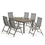 Lifestyle Garden Solana 6 Seater Rectangular Dining Set